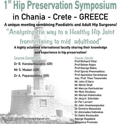 1st Hip Preservation Symposium
