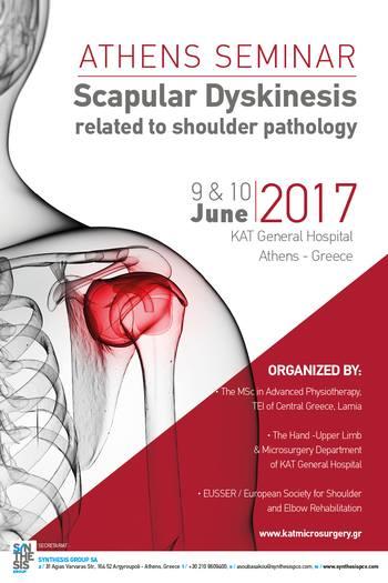 Athens Seminar: Scapular Dyskinesis related to shoulder pathology